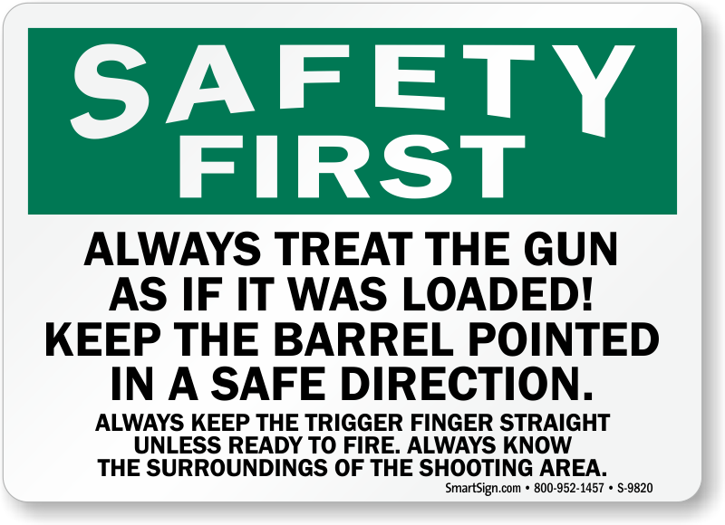 Image result for image of gun safety
