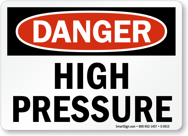 image Caution contents under high pressure Part 10