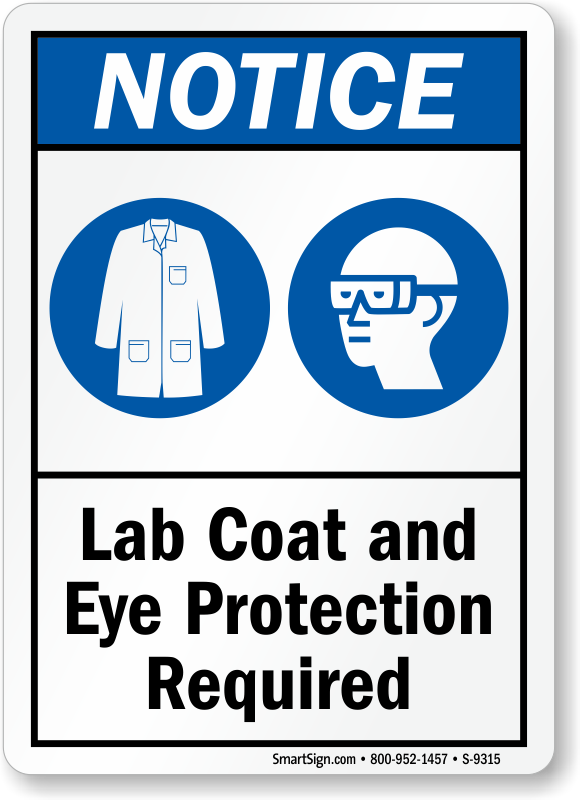 Lab Safety Signs Mysafetysign