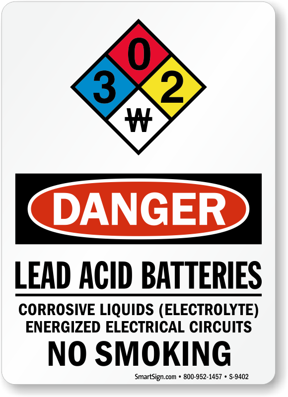 Lead Warning Signs Lead Hazard Signs Lead Work Area Signs