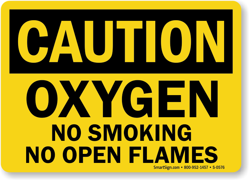 photograph regarding Oxygen in Use Sign Printable referred to as Oxygen Signs and symptoms Oxygen in just Employ Signs or symptoms No Cigarette smoking - Oxygen