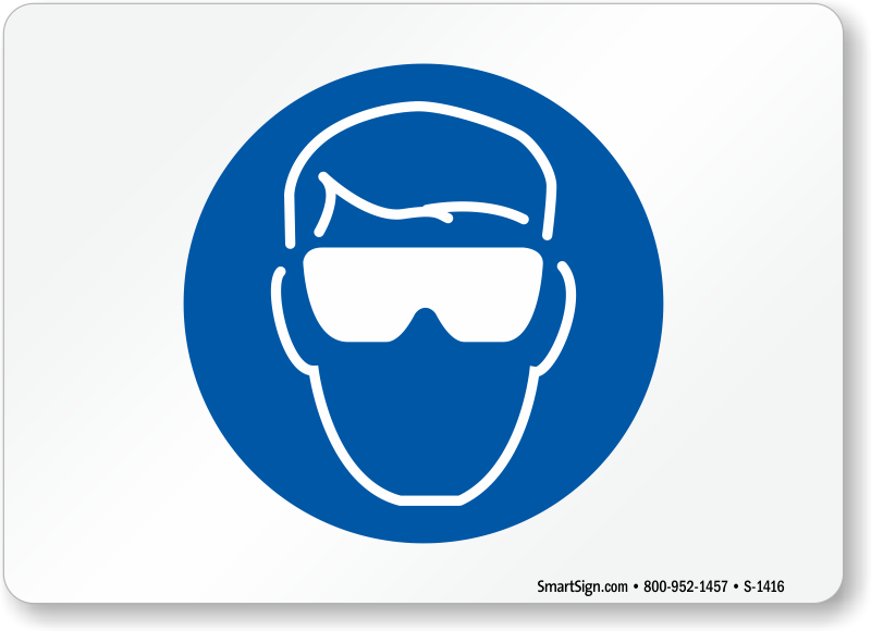 Ppe Safety Glasses Icon
