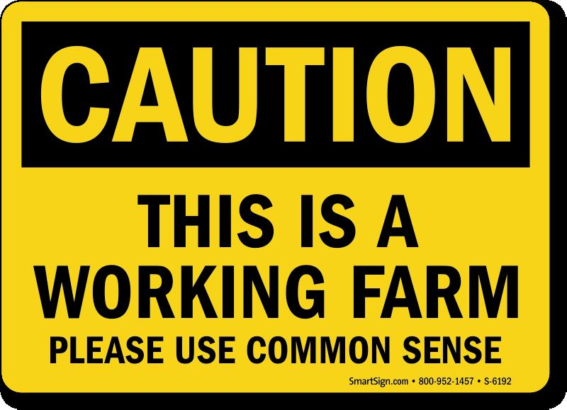 Farm Safety Signs Mysafetysign Com