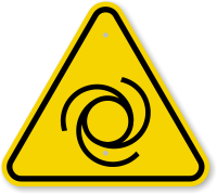 ISO Automatic Start-Up Symbol Warning Sign