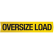 Oversize Load Transportation Sign
