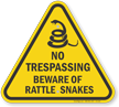 ISO Warning Sign