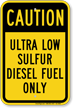 Diesel Fuel Sign