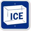 Ice Cube Sign