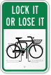 Bicycle Safety Sign