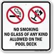 Pool Safety Sign