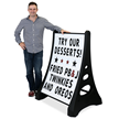 Standard XL Quick-Load A-Frame Sidewalk Sign and Letter Kit