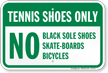 Tennis Court Sign