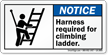 ANSI Notice Safety Label