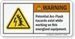 ANSI Warning Safety Label