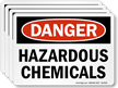 OSHA Danger Label