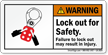 2-Sided ANSI Warning Safety Label