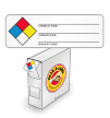 NFPA Chemical Vinyl Labels