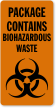 Biohazard Safety Label
