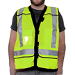 High Visibility Safety Vests Yellow