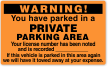 Parking Violation Warning Permit