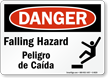 OSHA Bilingual Danger Sign