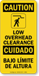 OSHA Bilingual Caution Sign
