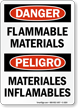 Bilingual Danger / Peligro OSHA Sign