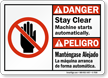 Bilingual ANSI Danger /Peligro Sign