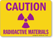 Radioactive Material Sign