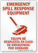 Bilingual Chemical Hazard Sign