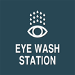 Contour/Esquire Eye Wash Sign, 5.5in. x 5.5in.
