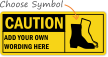 PPE Caution Sign