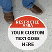 SlipSafe™ Custom Floor Sign