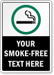 Custom Smoking Sign