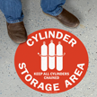 17in. Diameter SlipSafe™ Floor Sign