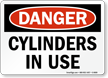 OSHA Chemical Danger Sign