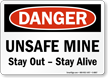 OSHA Danger Safety Sign
