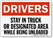 Truck Safety Sign