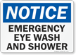 Glow-in-the-Dark Notice Sign