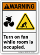 ANSI Warning Carbon Dioxide Sign
