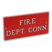 Fire Department Connection Plate