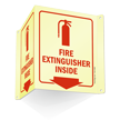 Fire Extinguisher Projecting Glow Sign