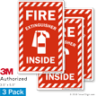 Fire Extinguisher Label Set
