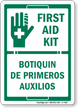 First Aid Sign (Bilingual)