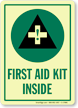 First Aid Glow Sign