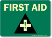 Glow-in-the-Dark Emergency Medical Help Sign