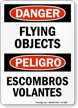 Bilingual OSHA Danger / Peligro Safety Sign
