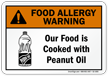 Food Allergy Warning Sign