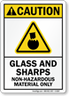 Waste Disposal ANSI Caution Sign