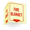 Fire Blanket Projecting Sign